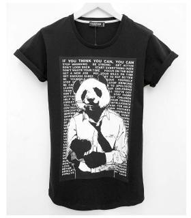 T-shirt ανδρικό panda K1049