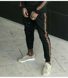 Παντελόνι φόρμα ανδρικό cotton 3 stripes K1050A