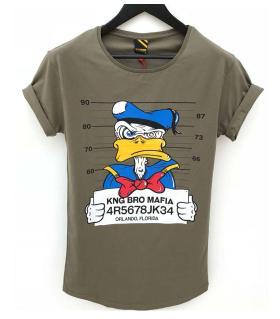 T-shirt ανδρικό duck mafia K1065
