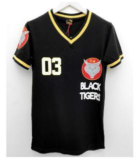 T-shirt ανδρικό -black tigers- K1068