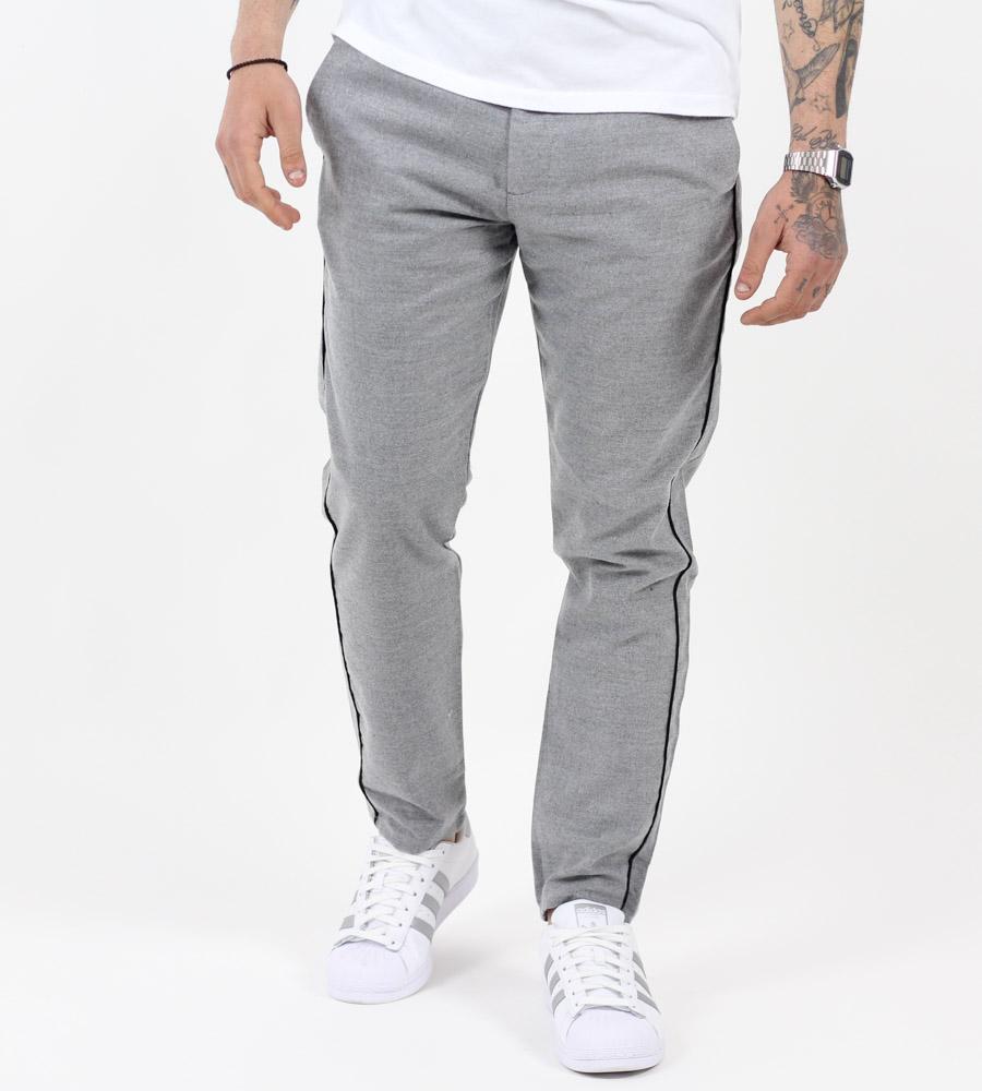 Παντελόνι ανδρικό stripe K1072