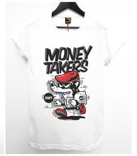 T-shirt ανδρικό - money takers - K1084