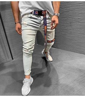Παντελόνι jean ανδρικό slash K129