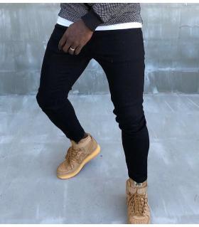 Παντελόνι jean ανδρικό μονόχρωμο K151