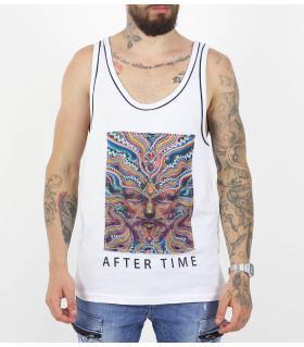 Αμάνικο ανδρικό Tshirt aftertime K17-1073