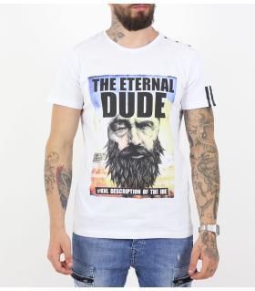 Tshirt ανδρικό dude K17-1136
