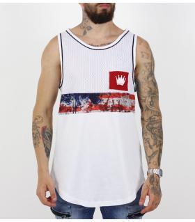 Αμάνικο ανδρικό Tshirt crown K17-2057