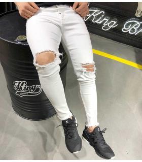 Παντελόνι jean slash K2001