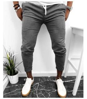 Παντελόνι ανδρικό μονόχρωμο K2012