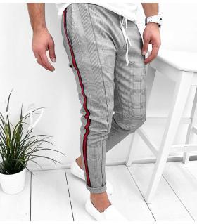 Παντελόνι ανδρικό καρό stripes K2019