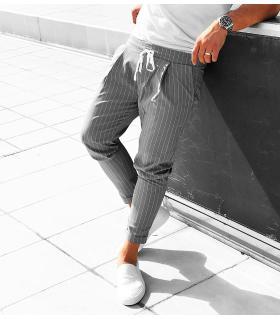 Παντελόνι ανδρικό ριγέ K2023