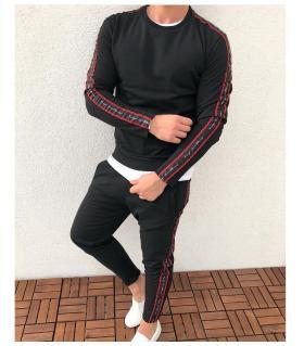 Σετ φόρμας (παντελόνι-μπλούζα) λεπτό φούτερ K2034
