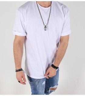 T-shirt ανδρικό oversized μονόχρωμο K2073