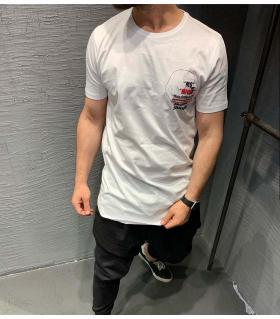 T-shirt ανδρικό - smoking time - K2079