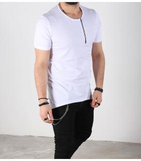T-shirt ανδρικό zip K2132