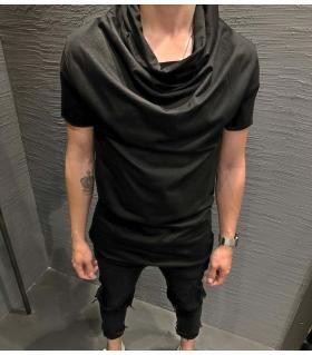 T-shirt ανδρικό long neck K2503