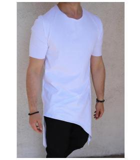 T-shirt ανδρικό long ασύμμετρο K2516