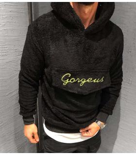 Hoodie fleece ανδρικό -Gorgeus- K2540