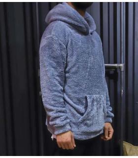 Hoodie fleece ανδρικό K2543