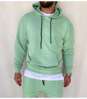 Μπλούζα φούτερ με κουκούλα K2800