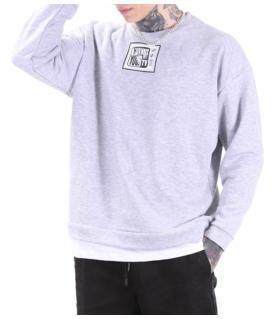 Μπλούζα φούτερ double -TV- K2807