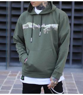 Μπλούζα φούτερ με κουκούλα -touch- K2812