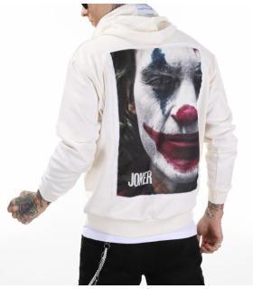 Μπλούζα φούτερ με κουκούλα -Joker- K2815