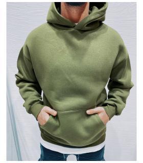 Μπλούζα φούτερ ανδρική με κουκούλα K4111