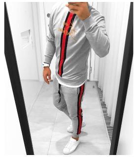 Σετ φόρμας (παντελόνι-μπλούζα) λεπτό φούτερ K5004