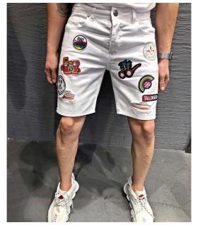 Βερμούδα jean ανδρική stickers K7072