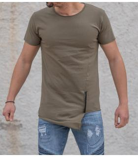 Tshirt ανδρικό zip K809
