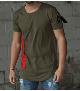 Tshirt ανδρικό red piece K861
