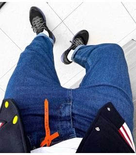 Παντελόνι jean ανδρικό boyfriend K876
