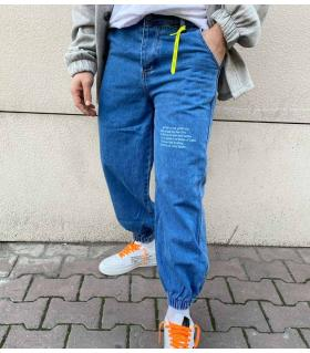 Παντελόνι jean ανδρικό boyfriend K880