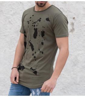 Tshirt ανδρικό splash K884