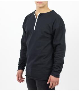 Μπλούζα φούτερ φερμουάρ K935