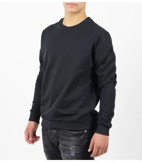 Μπλούζα φούτερ μονόχρωμη K938