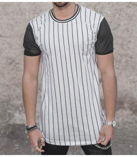 T-shirt ανδρικό stripes K993
