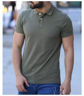 Polo T-shirt ανδρικό LE54045