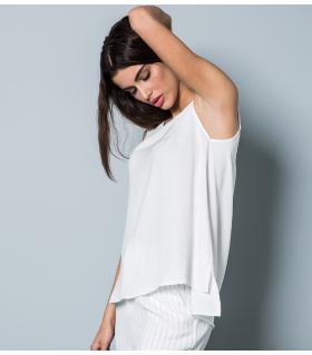 Μπλούζα αμάνικη γυναικεία NewAge NAJ1053