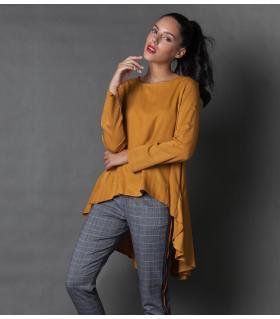 Μπλούζα γυναικεία βολάν NEW AGE NW1000
