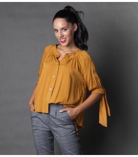 Μπλούζα viscose γυναικεία NEW AGE NW1011