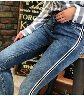 Παντελόνι jean γυναικείο ψιλοκάβαλο ελαστικό ON10070