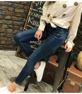 Παντελόνι jean γυναικείο ψιλοκάβαλο ελαστικό ON10080