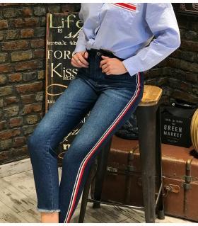 Παντελόνι jean γυναικείο ψιλοκάβαλο ελαστικό ON10086
