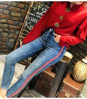 Παντελόνι jean γυναικείο ψιλοκάβαλο ελαστικό ON10109