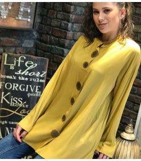 Μπλούζα γυναικεία μεγάλα κουμπιά ON4507
