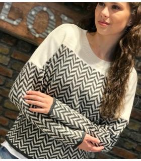 Μπλούζα πλεκτή γυναικεία ON80164