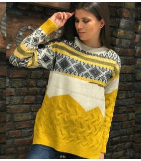 Μπλούζα πλεκτή γυναικεία ON80169