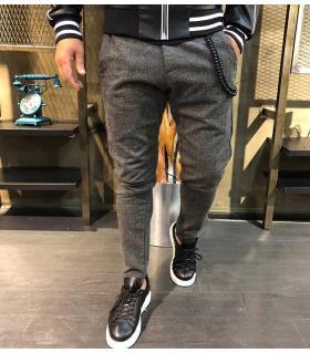 Παντελόνι ανδρικό stripes OP9754
